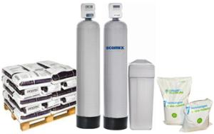 Замена фильтрующего материала, пересыпка фильтра для воды. Обслуживание фильтров для дома