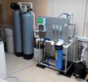 Оборудование для производства и продажи питьевой воды