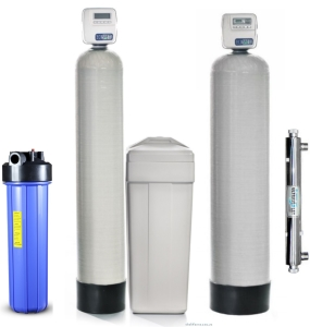 Купить систему очистки воды из скважины для дома и коттеджа в Киеве