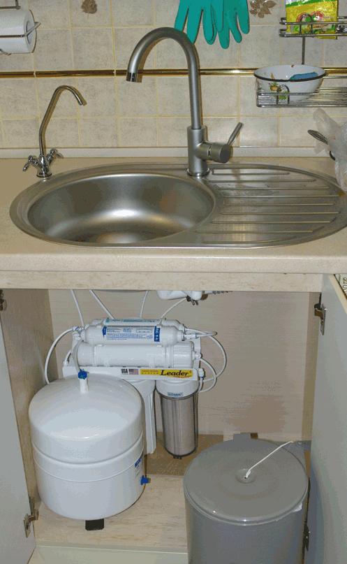 питьевой фильтр обратный осмос под мойку
