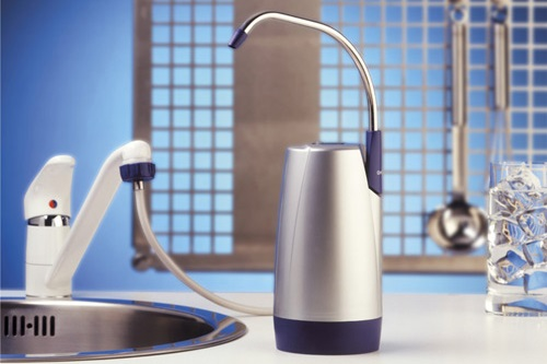 Купить настольный фильтр для воды в Киеве