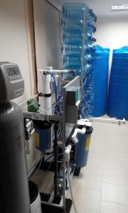 Пункт розлива питьевой воды купить оборудование в Киеве