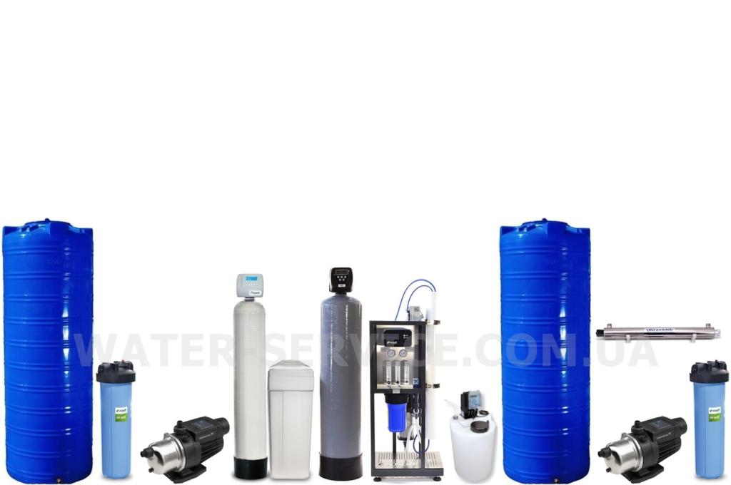 Оборудование для производства питьевой воды в розлив купить в Киеве