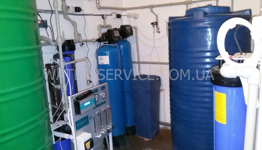 Оборудование для производства питьевой воды. Мини завод