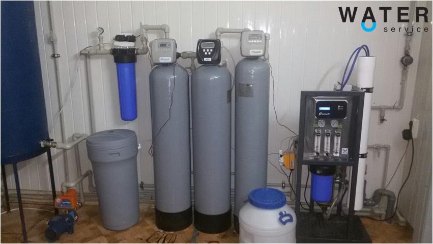 Цех розлива. Производство питьевой воды на доставку