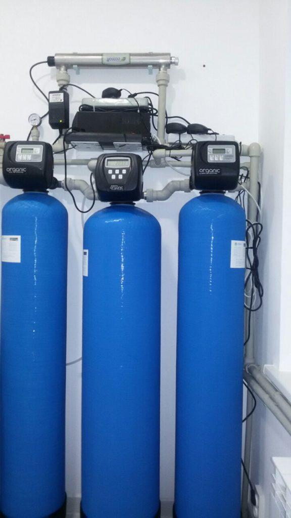 Наши работы. Система очистки воды для частного дома