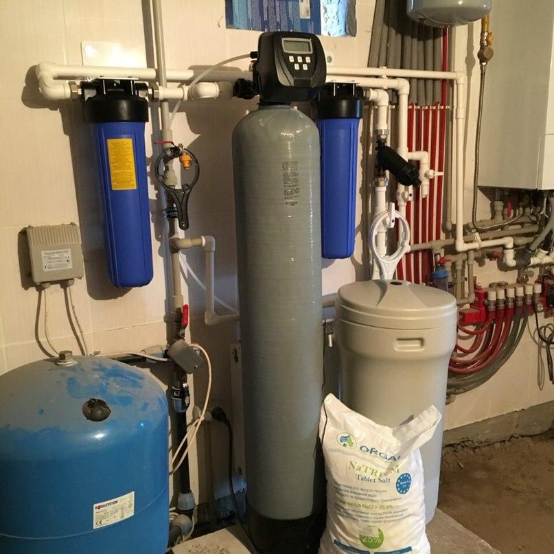 Водоподготовка в загородном доме. Очистка воды из скважины. Готовые решения