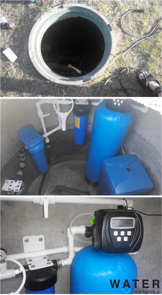 Очищення води зі свердловини в Макарові під ключ.