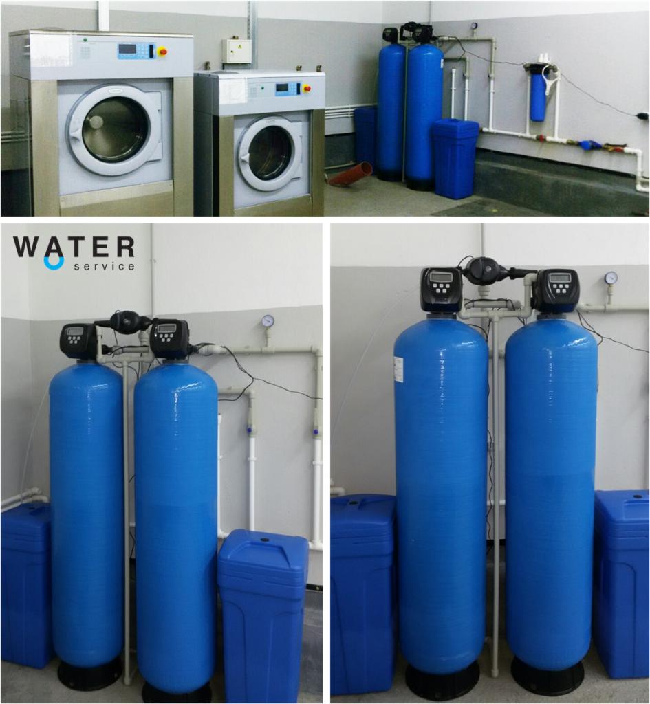 Система беспрерывной очистки воды для большой прачечной. купить с гарантией качества