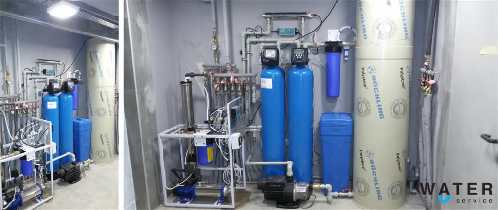 Система очистки воды для ресторана Organic
