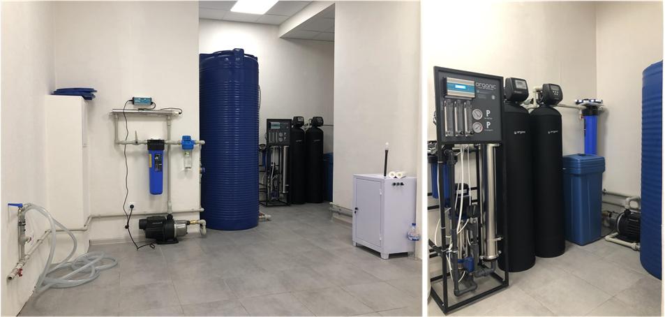 Производство питьевой воды на доставку в Украине