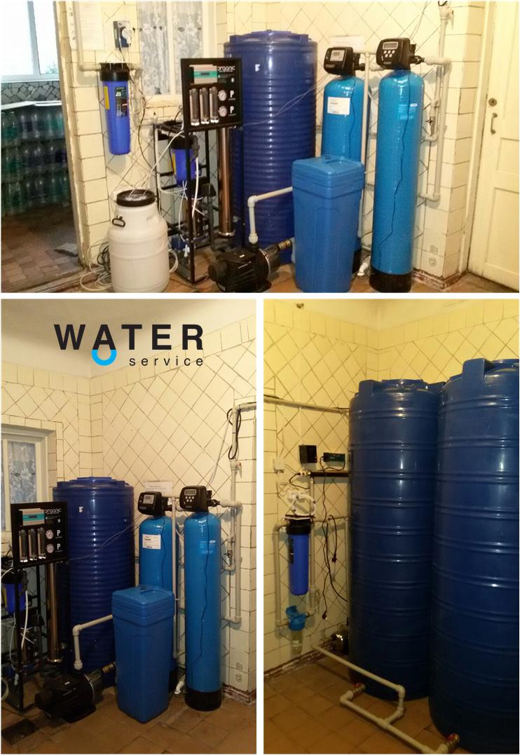 Цех производства питьевой воды для предприятия в Украине