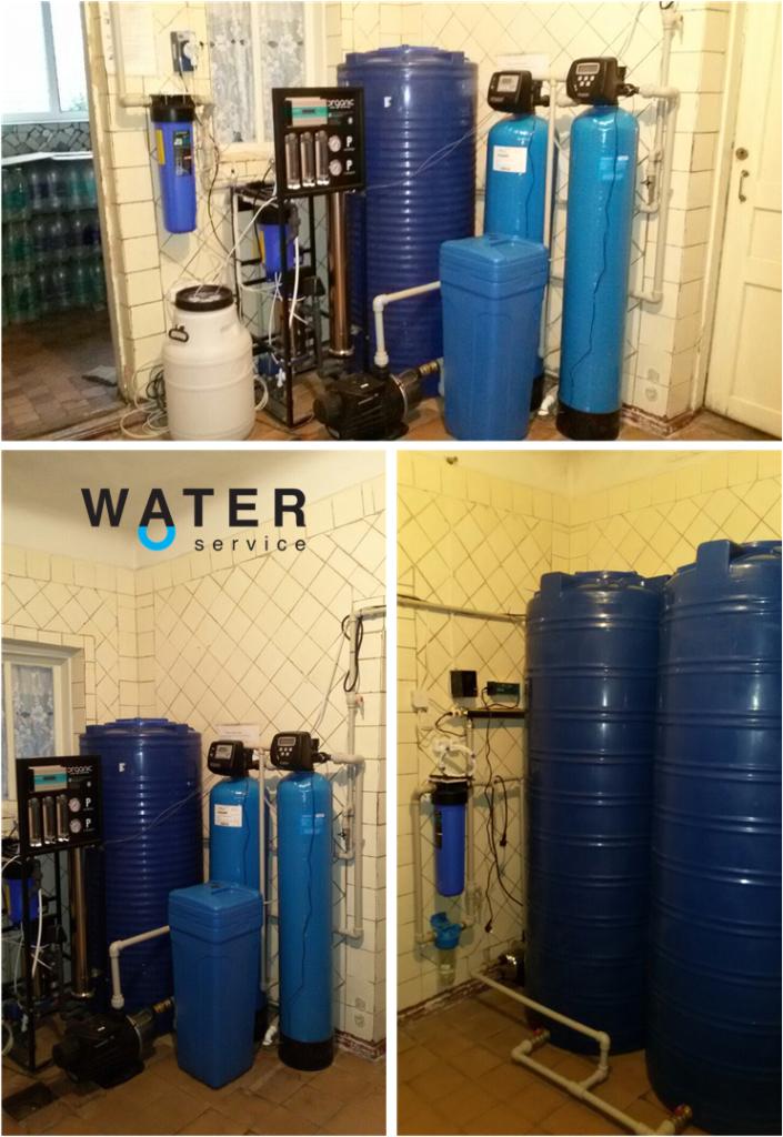 Производство питьевой воды для предприятия