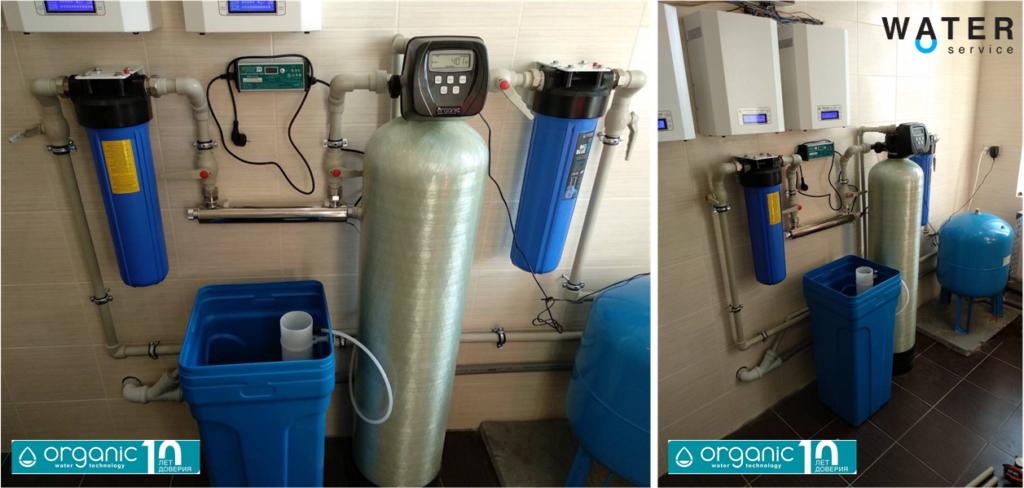 Система очищення води зі свердловини для котеджу Organic Classic UF
