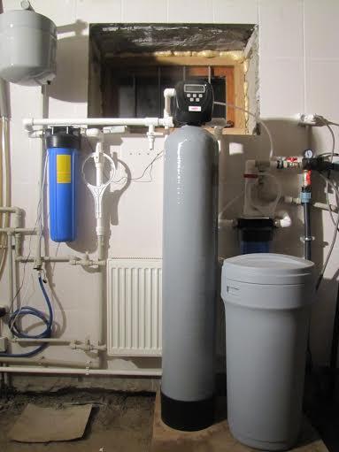 Очистка воды из скважины в частном доме. Наши работы