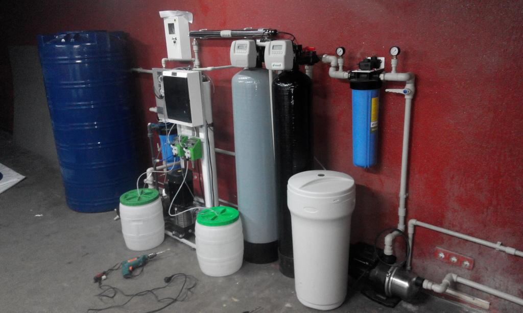 Оборудование для производства питьевой воды в розлив