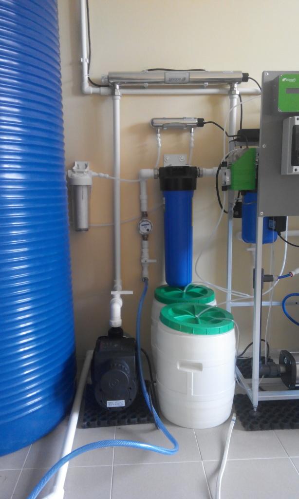 Пункт продажи питьевой воды. Бизнес на питьевой воде