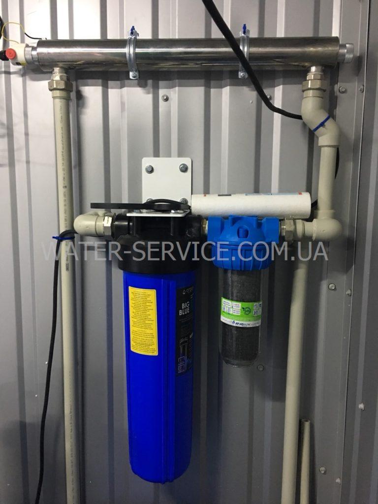 Мини завод производства питьевой воды Organic STANDART PLUS