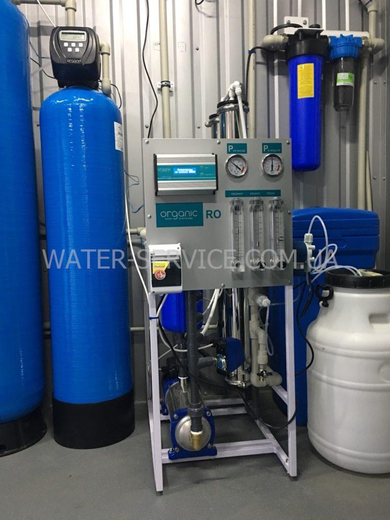 Питьевая вода как бизнес в Одессе. Цех на доставку ПИТНА ВОДА Organic