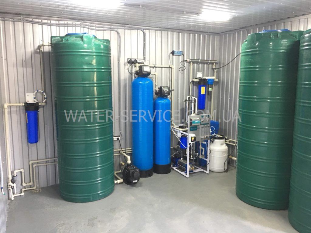 Цех производства питьевой воды ПИТНА ВОДА Organic с франшизой под ключ