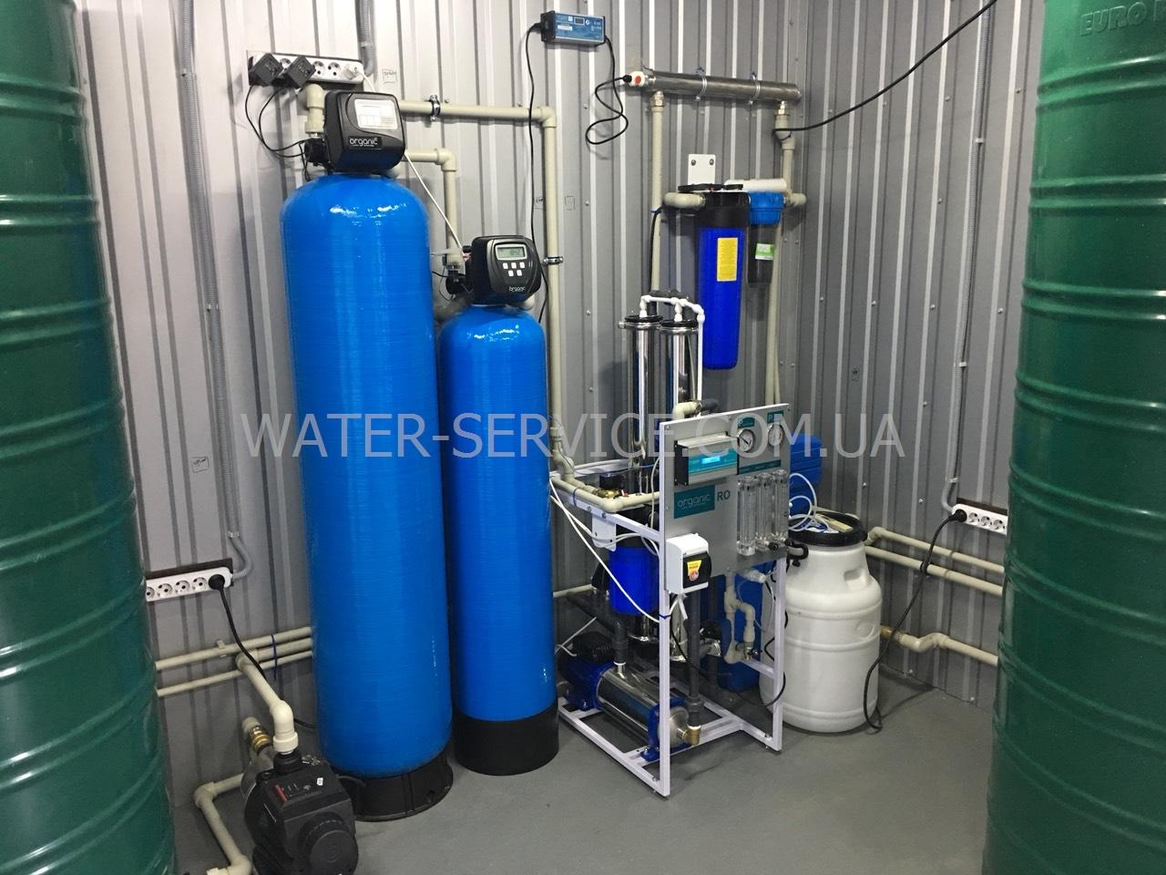 Производство бутилирпованной воды на доставку. Франшиза ПИТНА ВОДЫ Organic