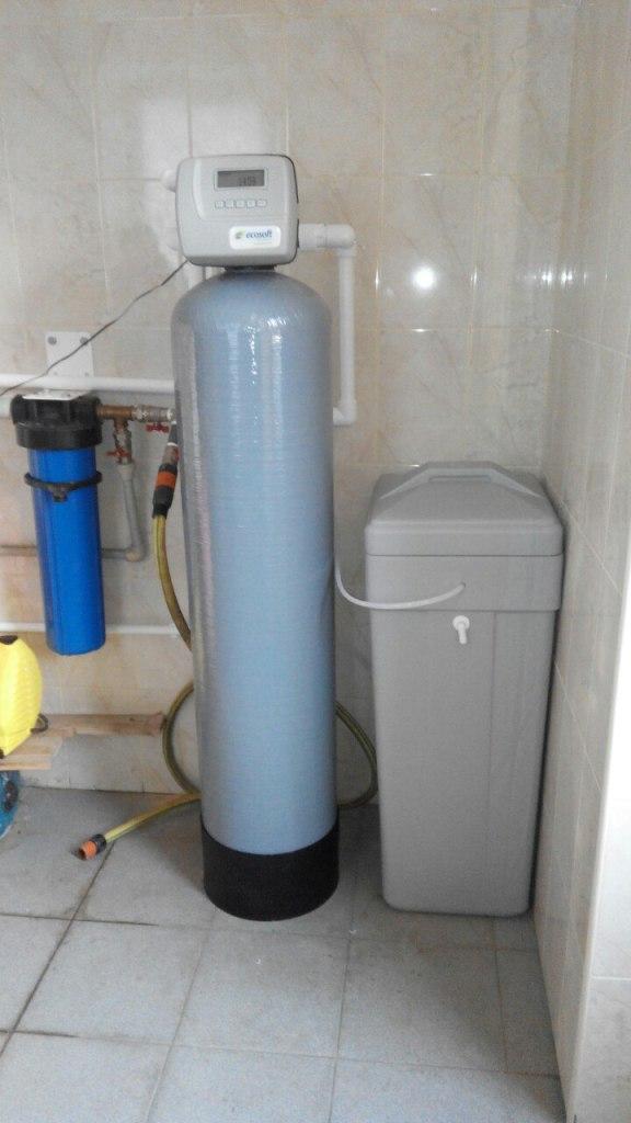 Купить систему очистки воды из скважины Экософт 1252