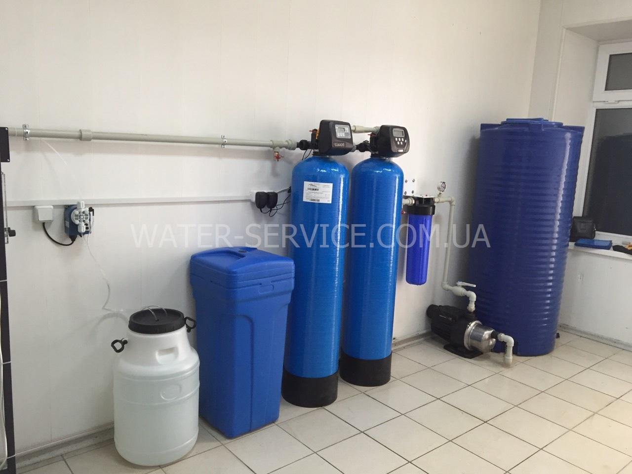 Цех производства питьевой воды на доставку