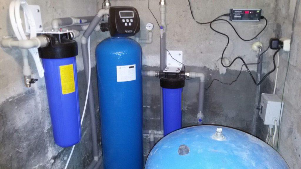 Комплексная система очистки воды для частного дома