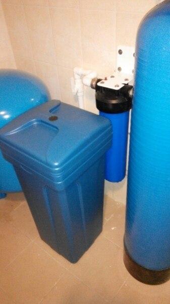 Очистка воды из скважины от железа и жесткости