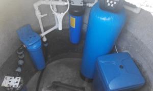 Комплексная очистка воды из скважины в Киеве