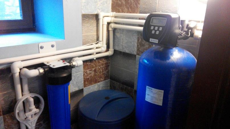 Очистка воды для частного дома. Готовые работы