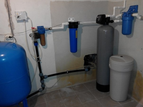 Фильтры для очистки воды из скважины в частном загородном доме