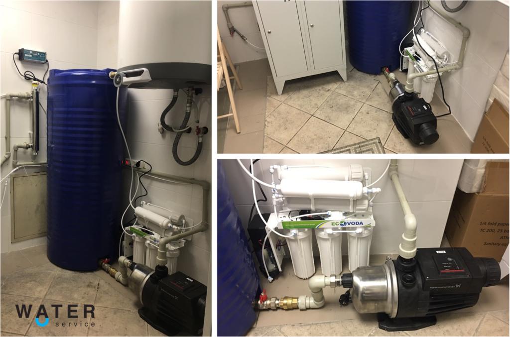 Система очистки воды для кафе, столовой или ресторана по выгодной цене