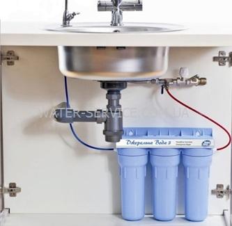 Купить проточный питьевой фильтр под мойку в Киеве