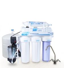 Купить систему обратный осмос Aqualine RO-5P с насосом по доступной цене в Киеве