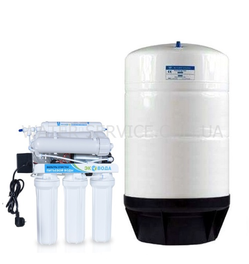 Купить питьевой фильтр для коллектива ECOVODA RO-7P-3x100GPD