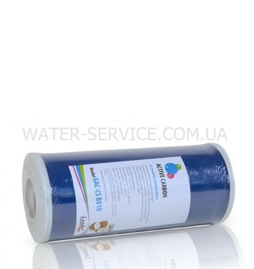 """Купить угольный картридж для очистки воды LEADER ВВ-10"""" GAC"""