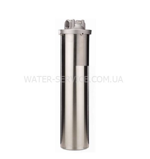 Купить магистральный фильтр RAIFIL HMF-20B. нержавеющая сталь