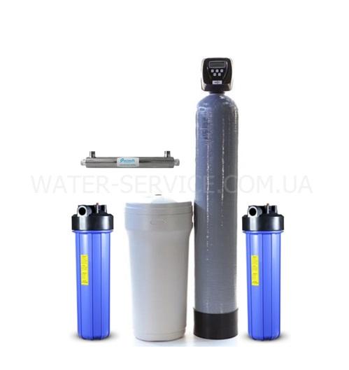 Комплексная очистка воды из скважины F1 5-37V-BB20-2PC-UF