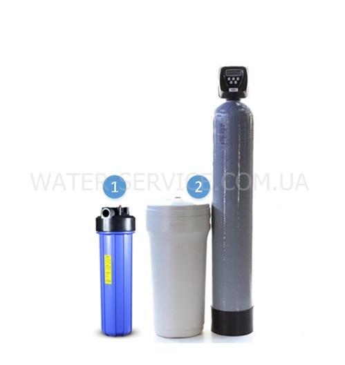 Комплексная система очистки воды из скважины для частного дома