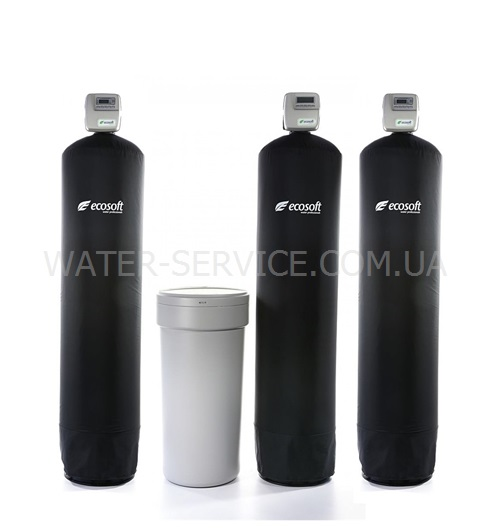 Купить систему очистки воды из скважины. Комплекс ЭКОСОФТ