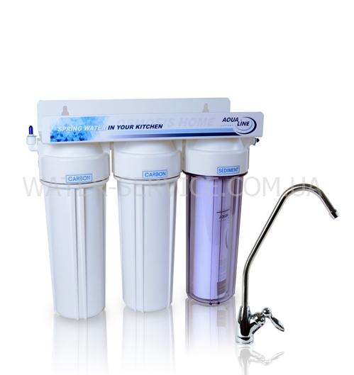 Купить проточный фильтр AquaLinr MF3 по доступной цене в Киеве