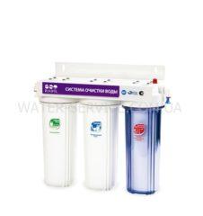Купить проточный фильтр под мойку RAIFIL TRIO. Цена в Киеве